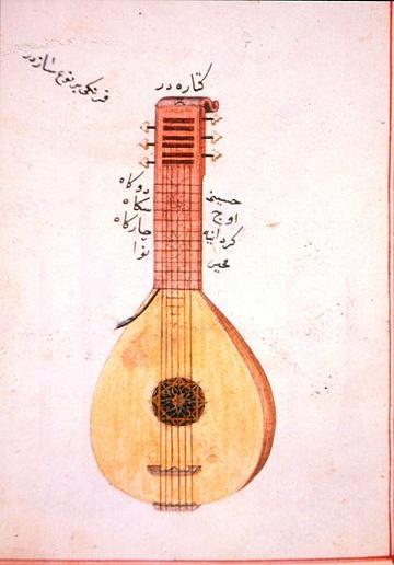 Die nach al-Andalus mitgebrachte arabische Oud ist die Vorgängerin der westlichen Laute und der Gitarre